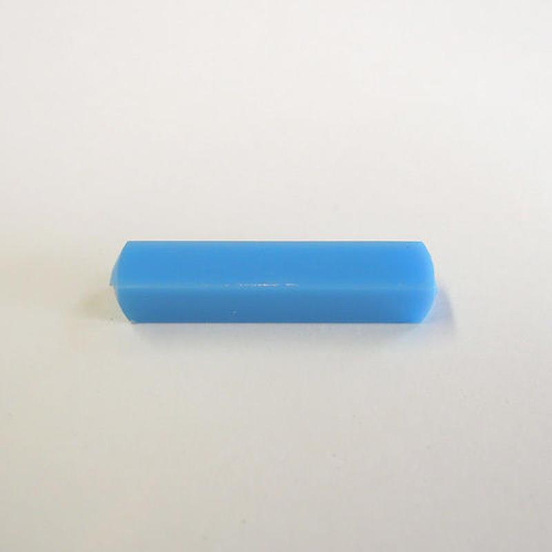 レクタングルチューブビーズ(FJ188 ブルー) 【2個セット】