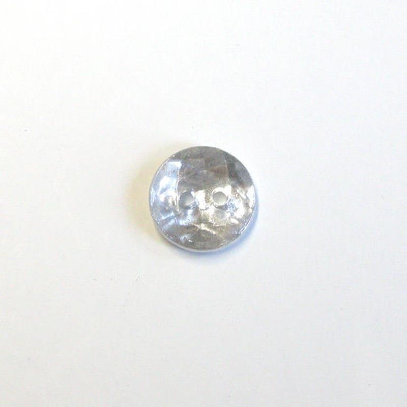 メタルカット2つ穴ボタン(JB736549 メタルシルバー)