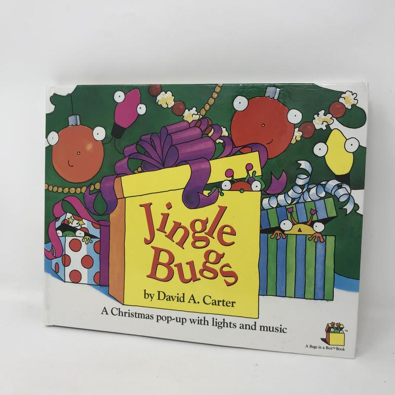 【B0108】Jingle Bugs by David A.Carter