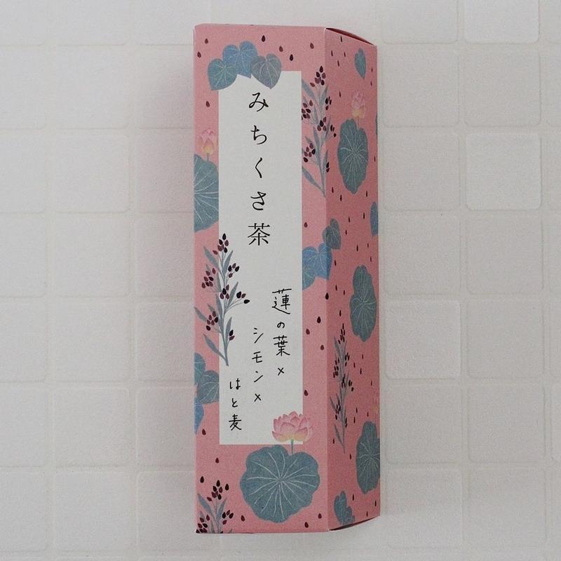 みちくさ茶【国産・蓮の葉ブレンド】<ティーバッグタイプ>
