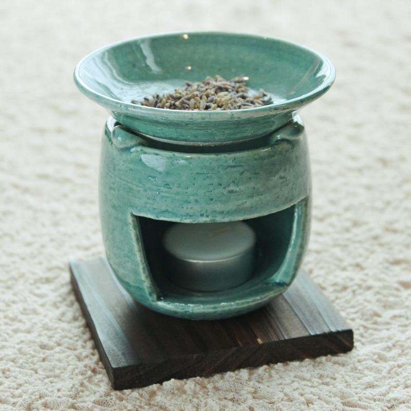茶香炉 type A(ブルー)