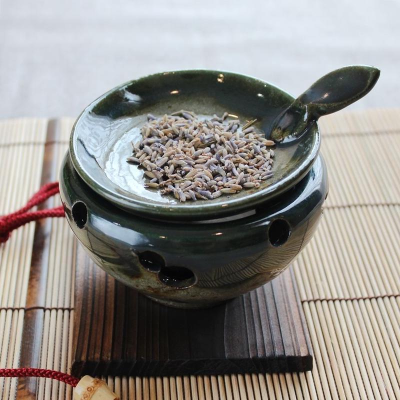 茶香炉 type C(深緑)