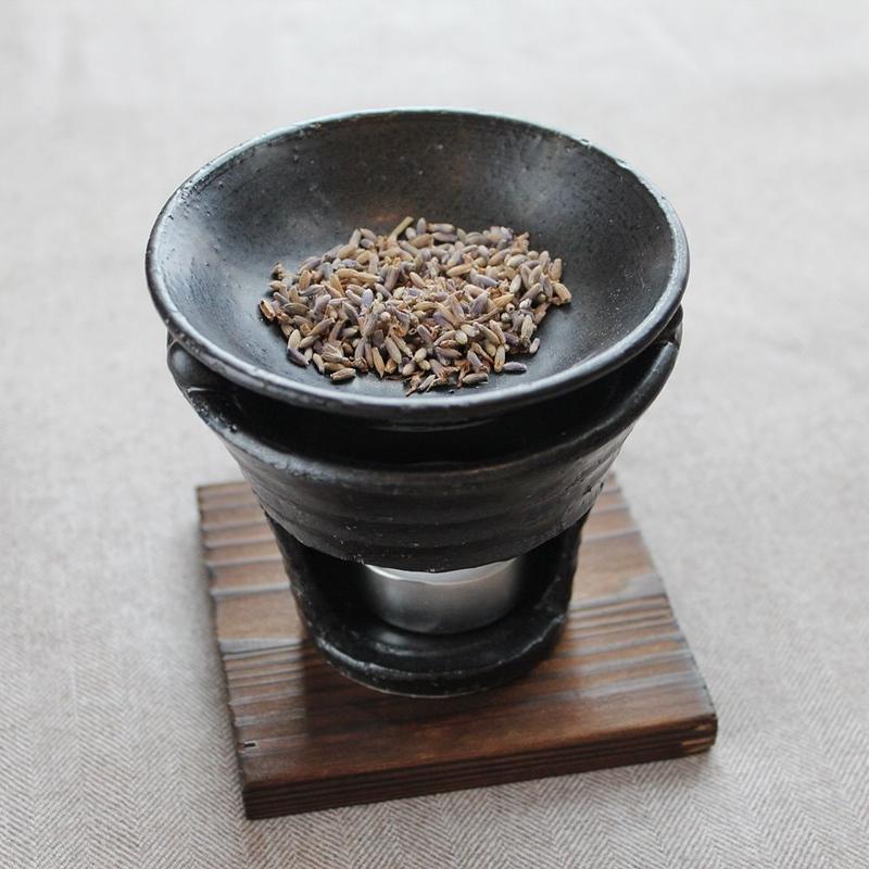 茶香炉 type B(黒)