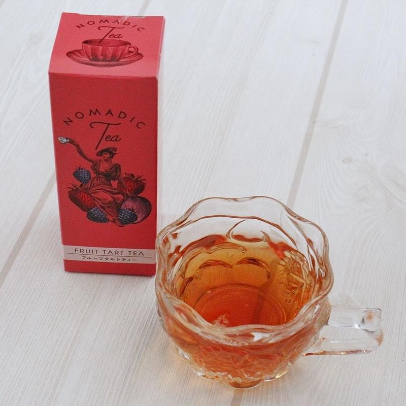 <世界を旅するおいしいお茶>ノマディックティー【フルーツタルトティー】<ティーバッグタイプ>