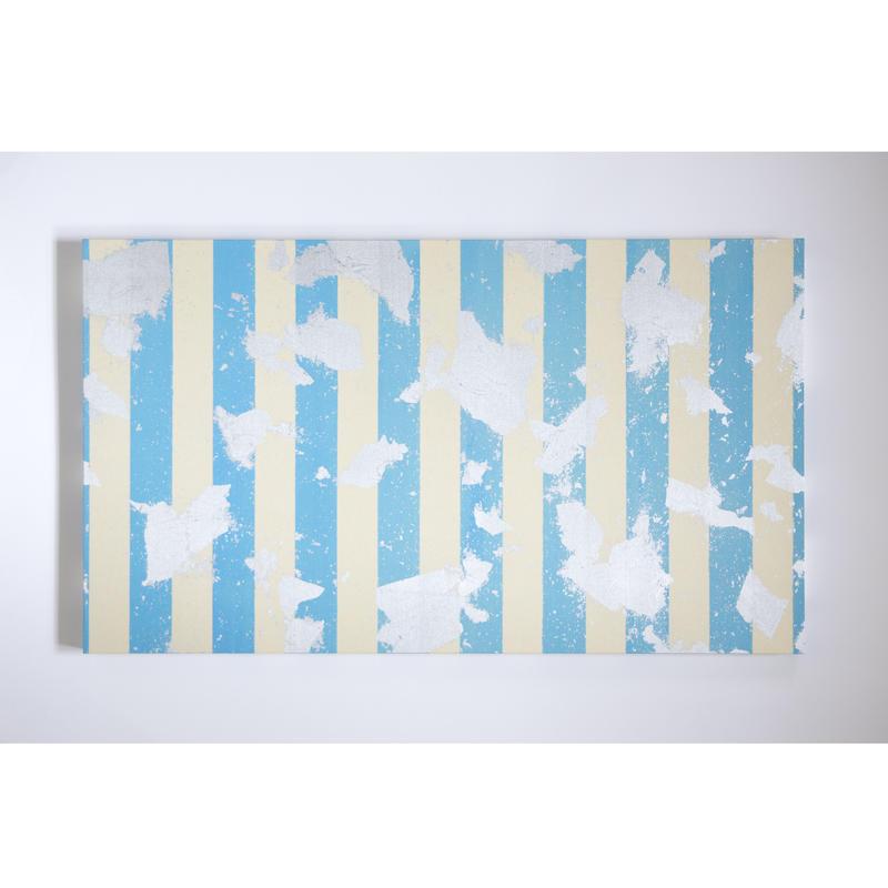 【現品限り】Leaf×Blue Stripeパネル