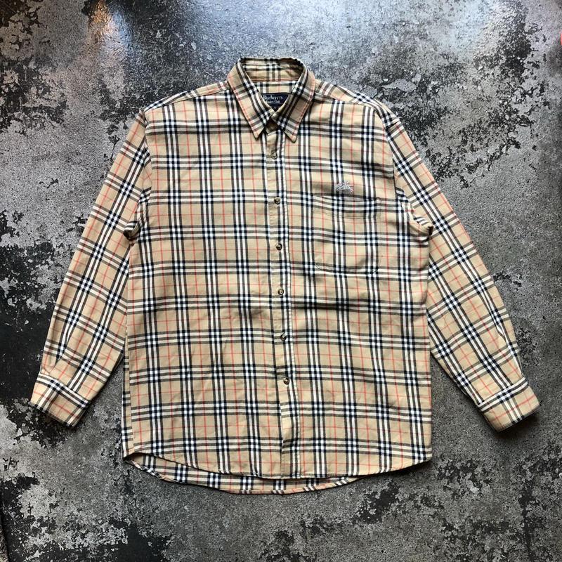used Blueberrys tartan check shirts