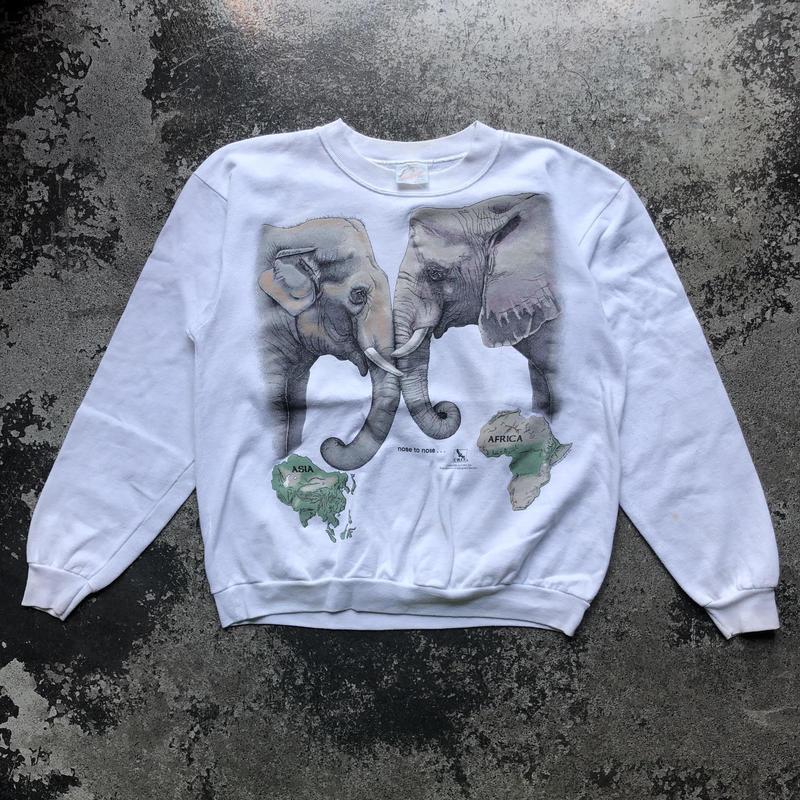 used USA製 ELEPHANT SWEAT