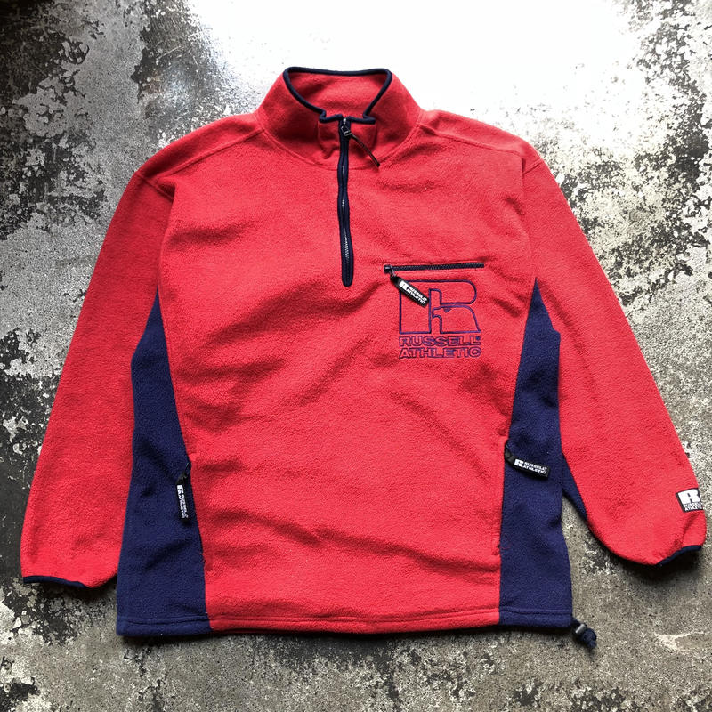 used RUSSELL ATHLETIC FLEECE JKT