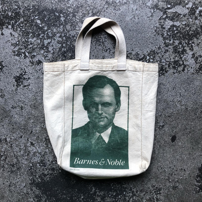 used Barnes & Noble John Grisham bag