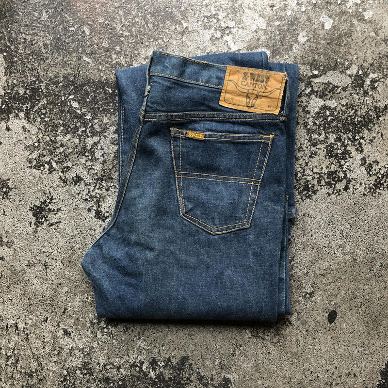 used X-WEST CANTON JEANS C20