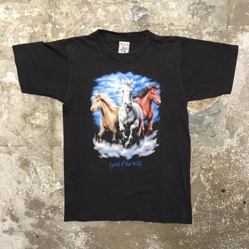USA製HORSE Tシャツ