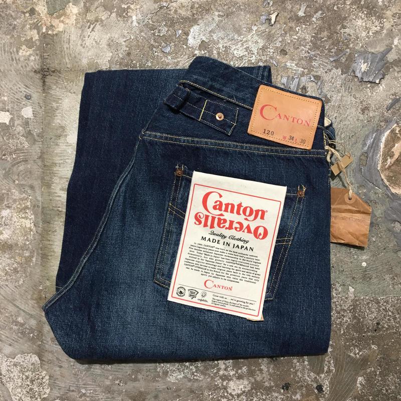 復刻未使用CANTON OVERALLS LOT120