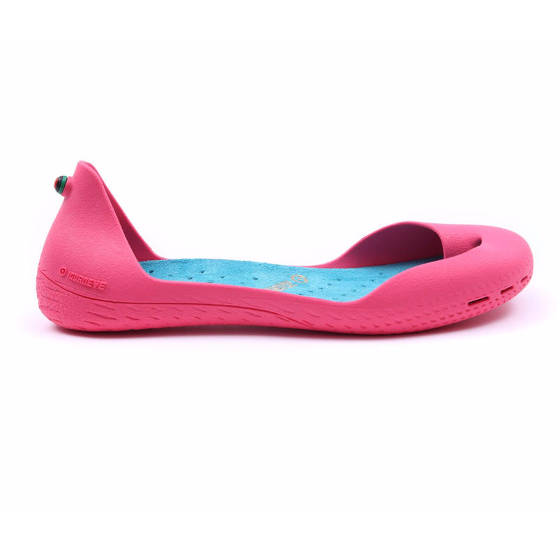 Hot Pink ボディ (Turquoise Blue インソール)