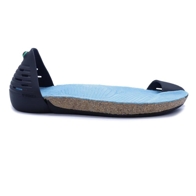 【JUNGLE】Black ボディ (LUX-Turquoise Blue インソール)