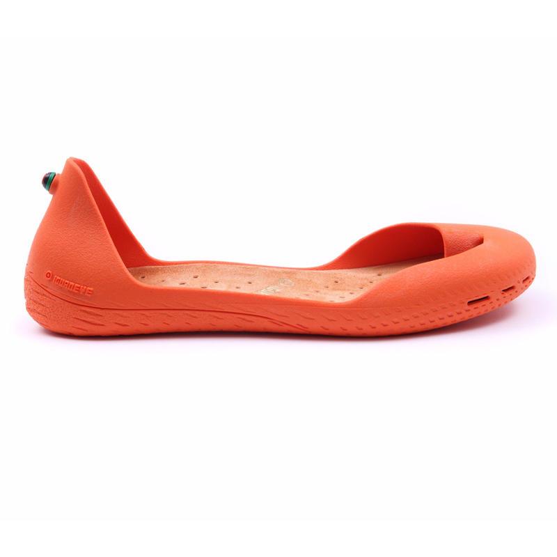 Orange Peel ボディ (Amber Orange インソール)