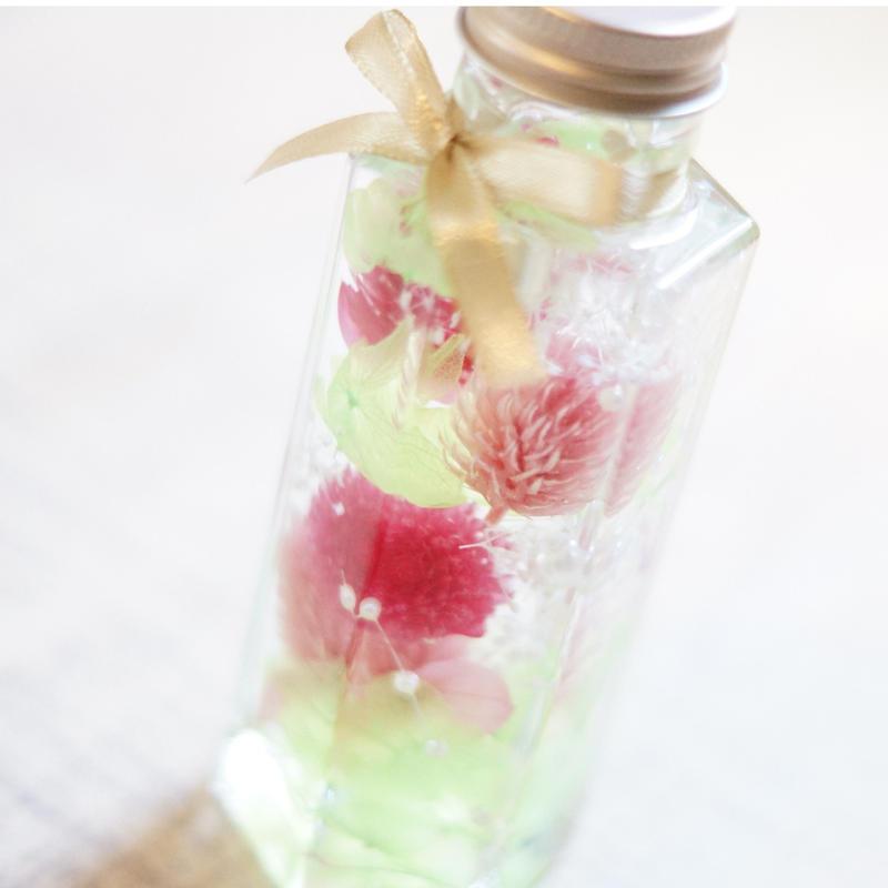 【生花】母の日ハーバリウムギフトS/PINK