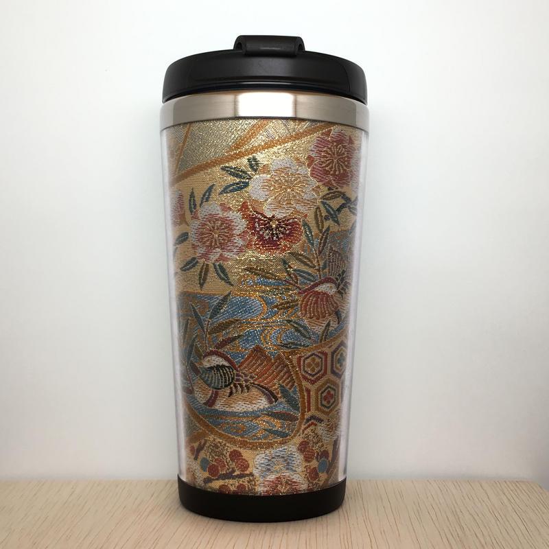 "Kimono Tumbler ""華 hana"" (h-04)"