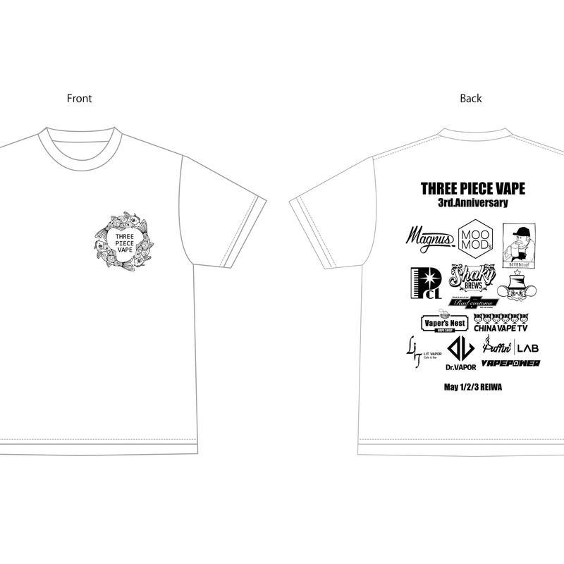 3PCS 3rd Anniversary T-SHIRT
