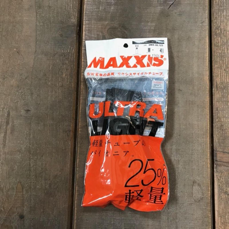 MAXXIS ULTRA LIGHT TUBE 26×1.90-2.125
