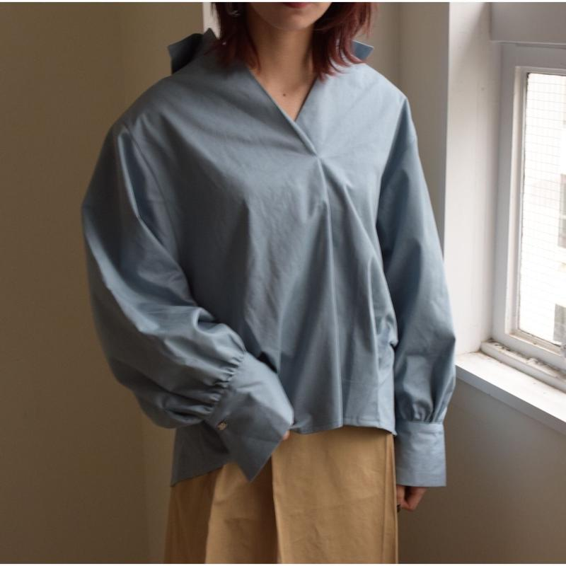 Over Size blouse BLUEGRAY