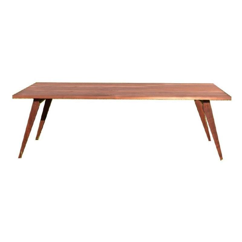 【受注生産品】オリジナルダイニングテーブルDTW/01W(天板:ウォールナット 脚:ウォールナット斜め脚)W1800