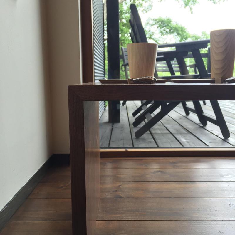 【受注生産品】オリジナルリビングテーブル LTW/04W(ウォールナット)