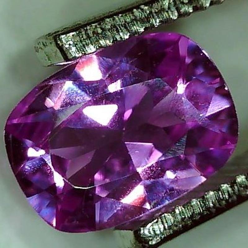 ピンクサファイア 0.670ct ◆ソーティングメモ付 非加熱◆ non heated Pink Sapphire