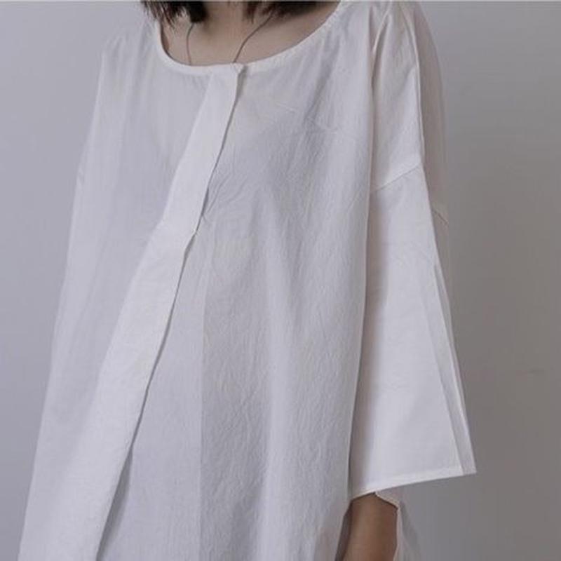 round-neck thin strap top