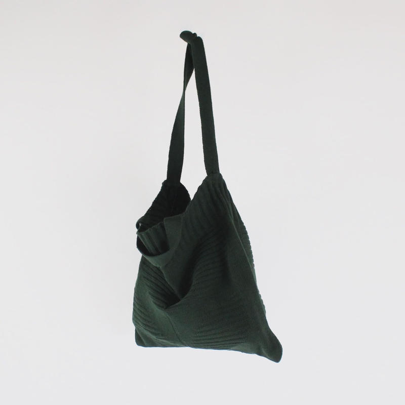 2 way wool knit bags