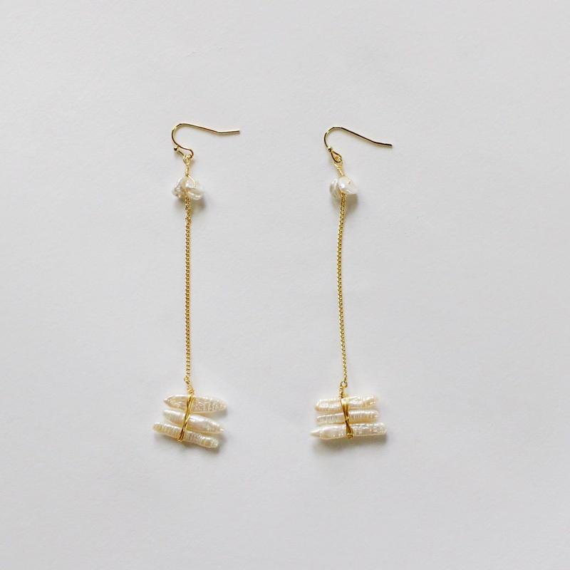 an ugly shell earrings