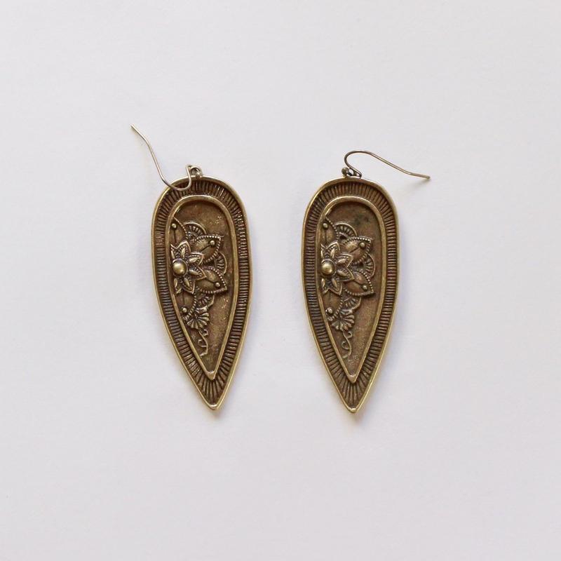 vintage w -20 moroccan earrings