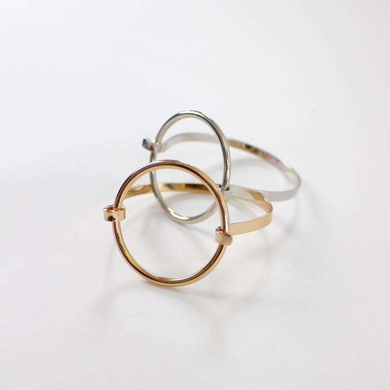 2colors-circular fashion bracelet