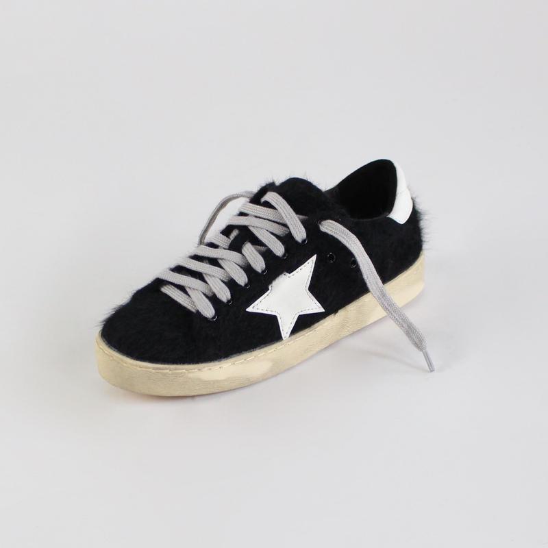 Ulzzang fur dirty shoes