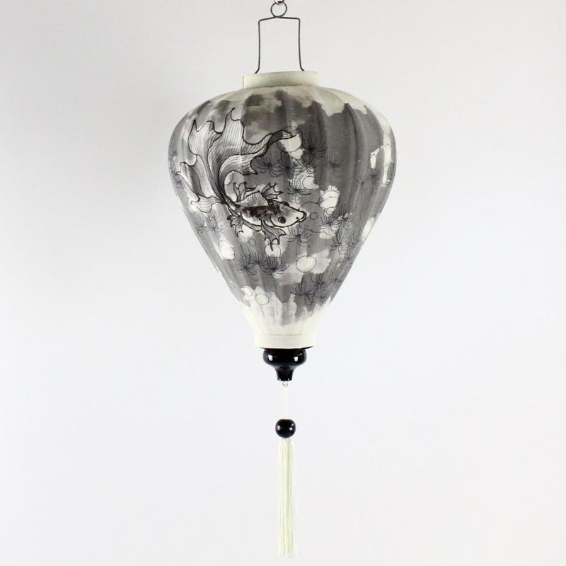 Hoi-An story Koi Lamp (大)