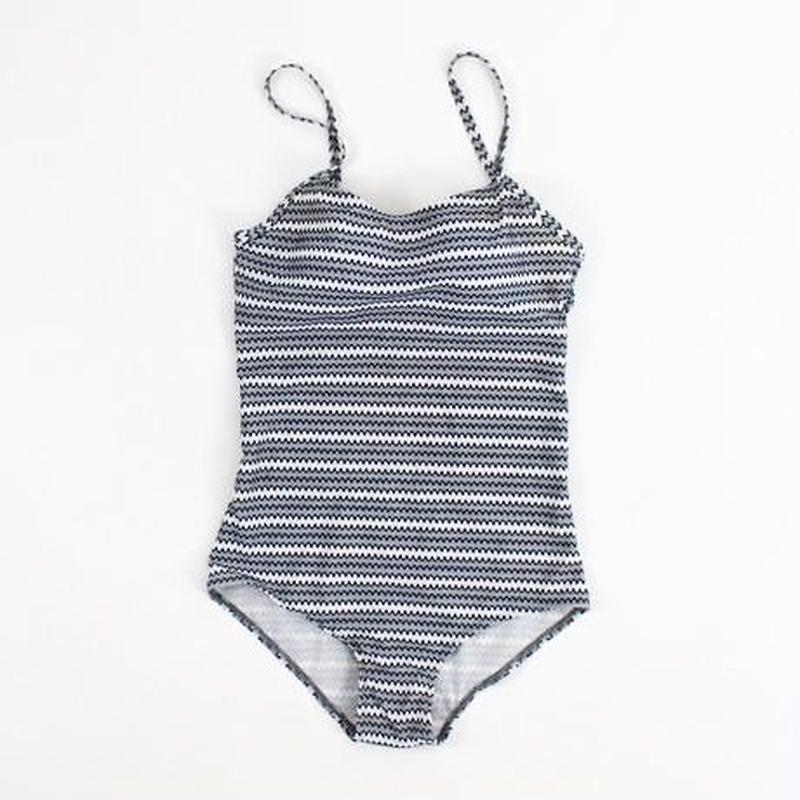 2color-calm wave swimsuit