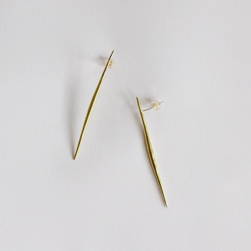 shrill brass earrings (original jewelry)