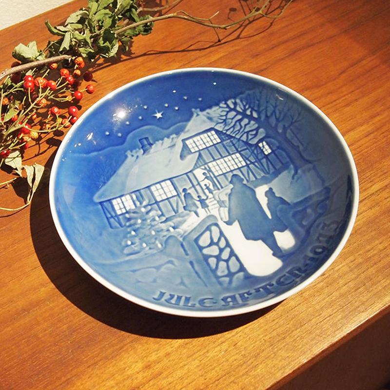 【ヴィンテージ】B&G ビングオーグレンダール クリスマスプレート 1973  I-952-171214