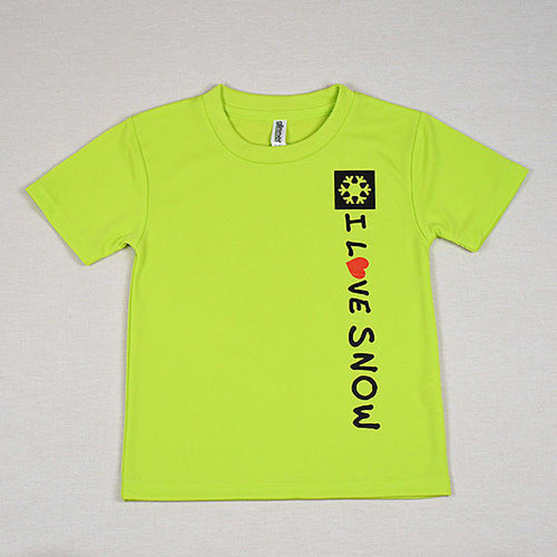 ドライキッズTシャツ (ライトグリーン/サイズ120・130)
