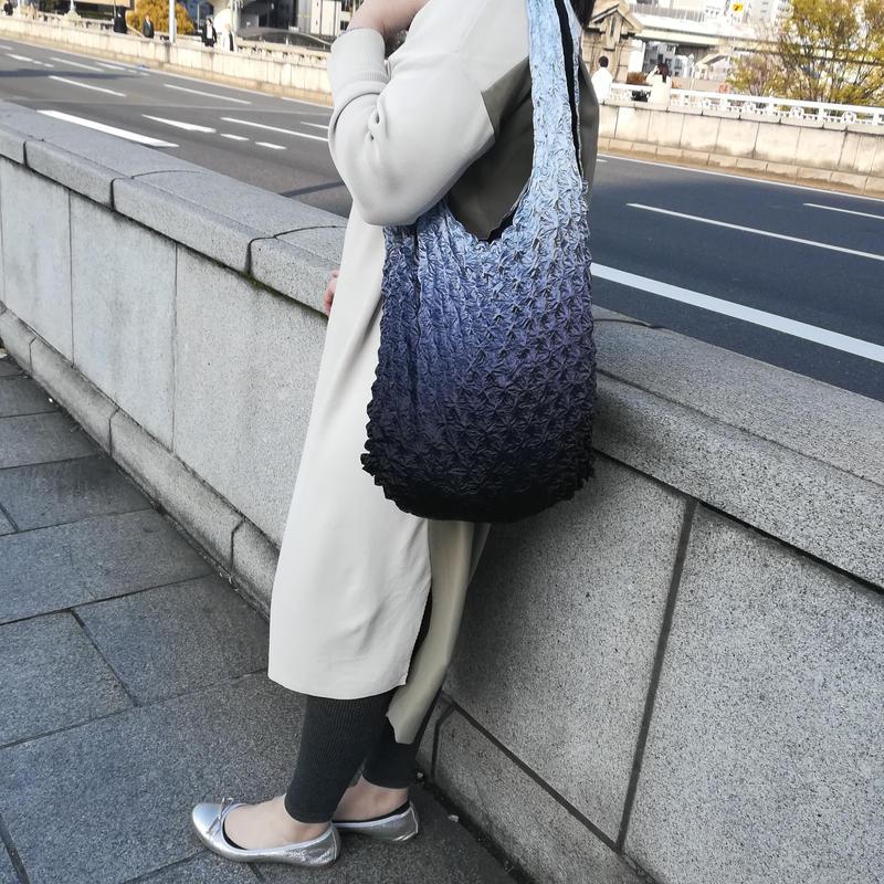 【京shibori  byÄmont】唄しぼり グラデーション すみ