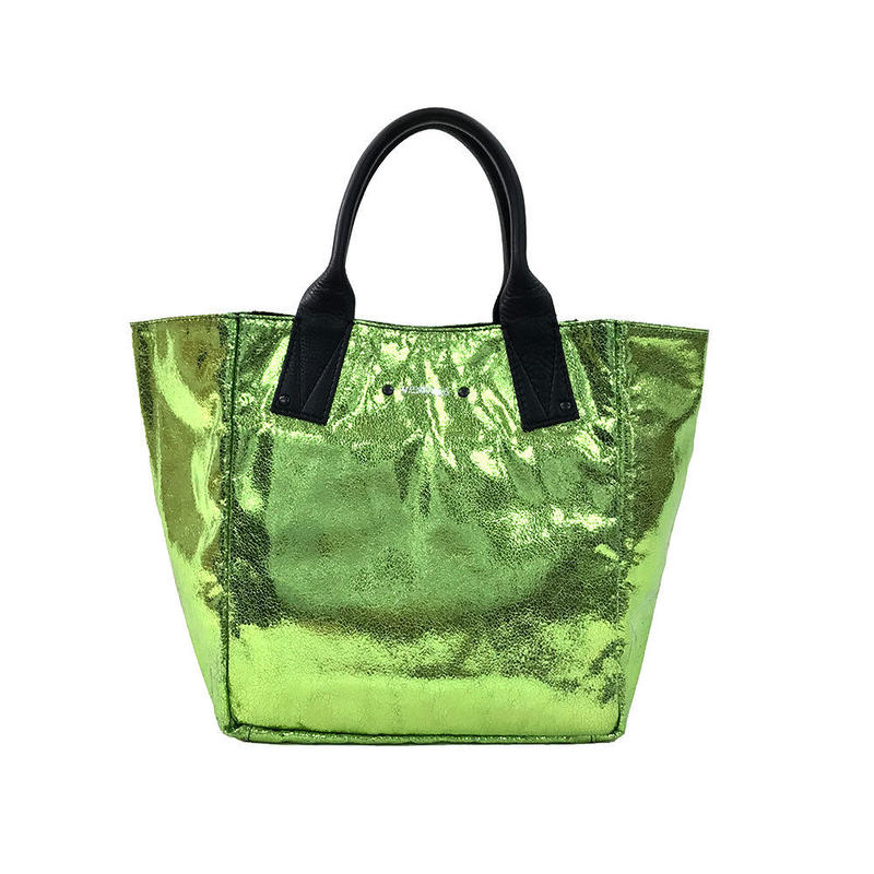 【VERDINO  PARIS】ヴェルディーノ Light Papillon  Verde      ライト     ハンドバッグ    ライムグリーン