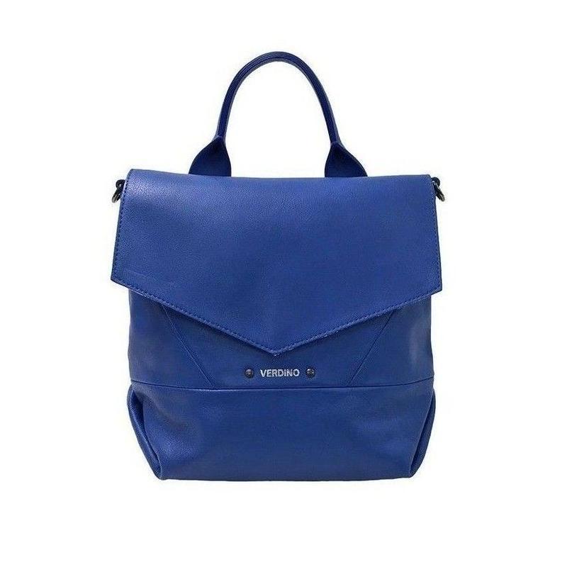 【VERDINO  PARIS】ヴェルディーノ Emilie  Cabas Rabas-S China 2way ショルダーバッグ トートバッグ ブルー