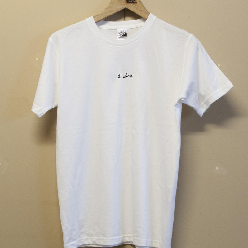■iL where mini logo Tshirt