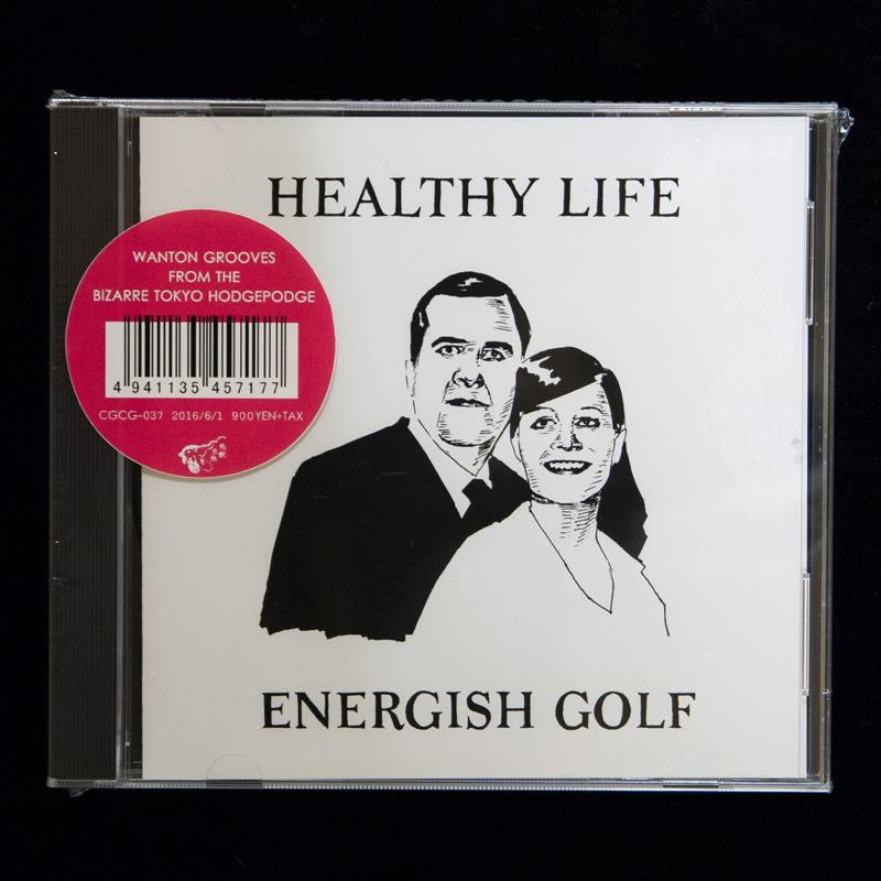 【CD EP】ENERGISH GOLF  / Healthy Life