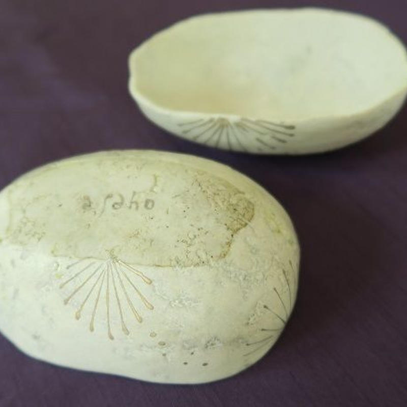 「瓜小鉢①」一点もの、神谷麻穂 (高岡)