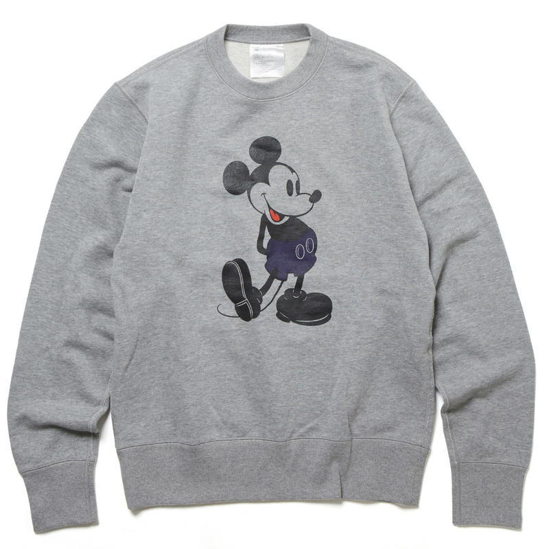 L.W MICKEY MOUSE CREW SWEAT