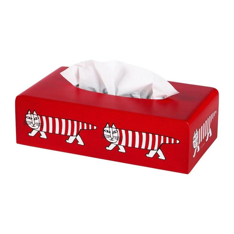 "TISSUE BOX ""MIKEY"" × SAITO WOOD"