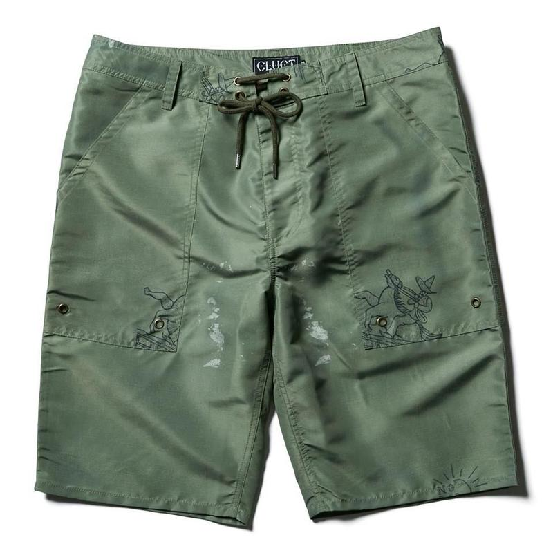 ORIGINAL MILITARY PATTERN SHORT