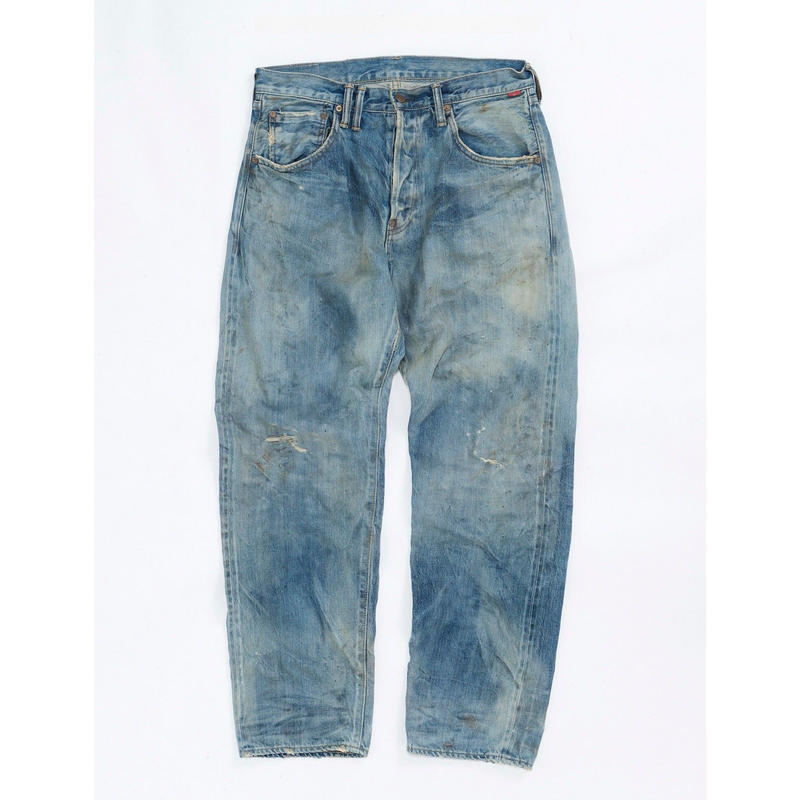 TYPE-α BASIC TAPERED JEANS