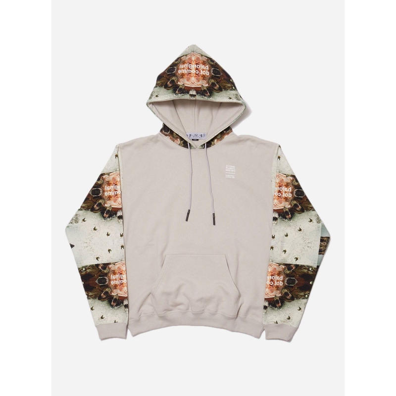 SPLASH & ORE PRINTED SWEAT HOODIE
