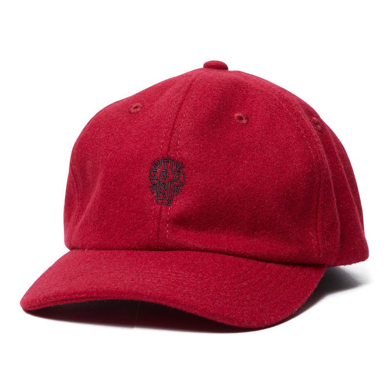 WOOL CURVED BRIM CAP